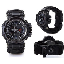 Load image into Gallery viewer, outdoor multifunctional survival waterproof watch