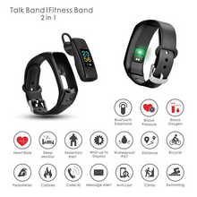 Load image into Gallery viewer, 2 in 1 Multifunction Smart Watch With Bluetooth Earphones