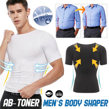 Load image into Gallery viewer, Abs Toner Men Shaping Shirt