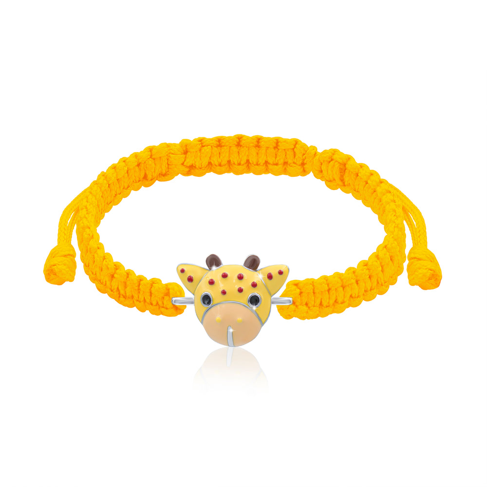 "Load image into Gallery viewer, Braided bracelet ""Giraffe"""