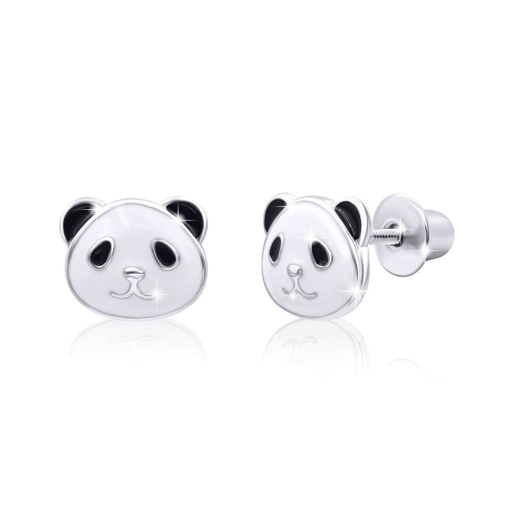 "Earrings ""Panda"""