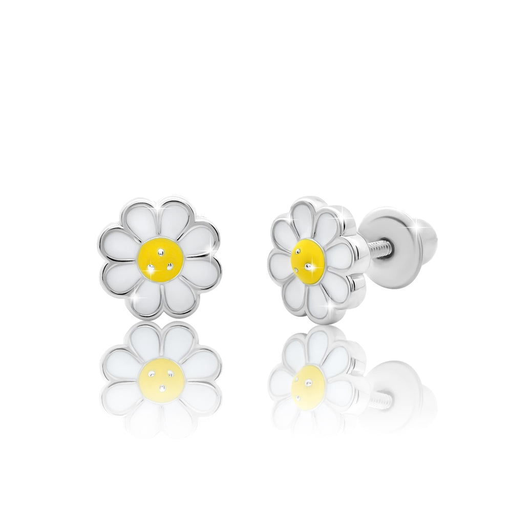 "Earrings ""Chamomile"""
