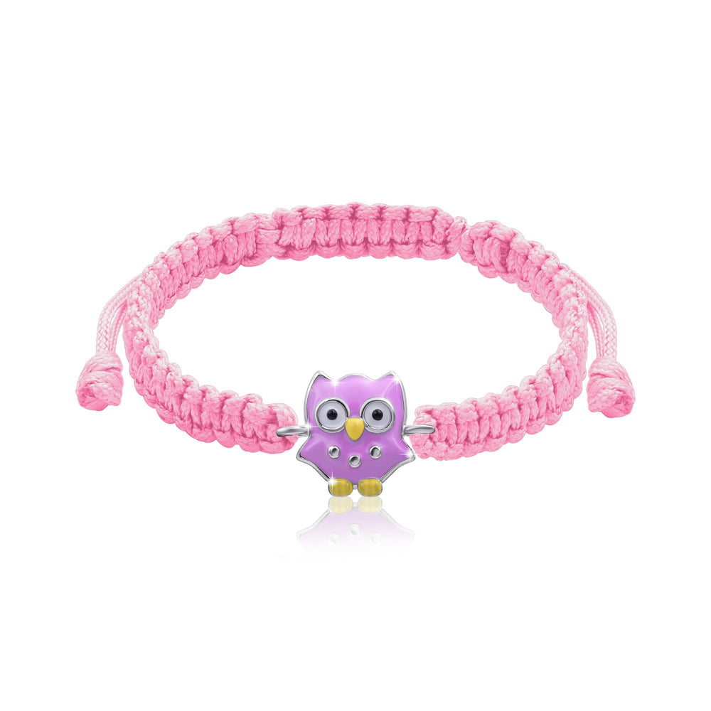 "Load image into Gallery viewer, Braided Bracelet ""Owl"""
