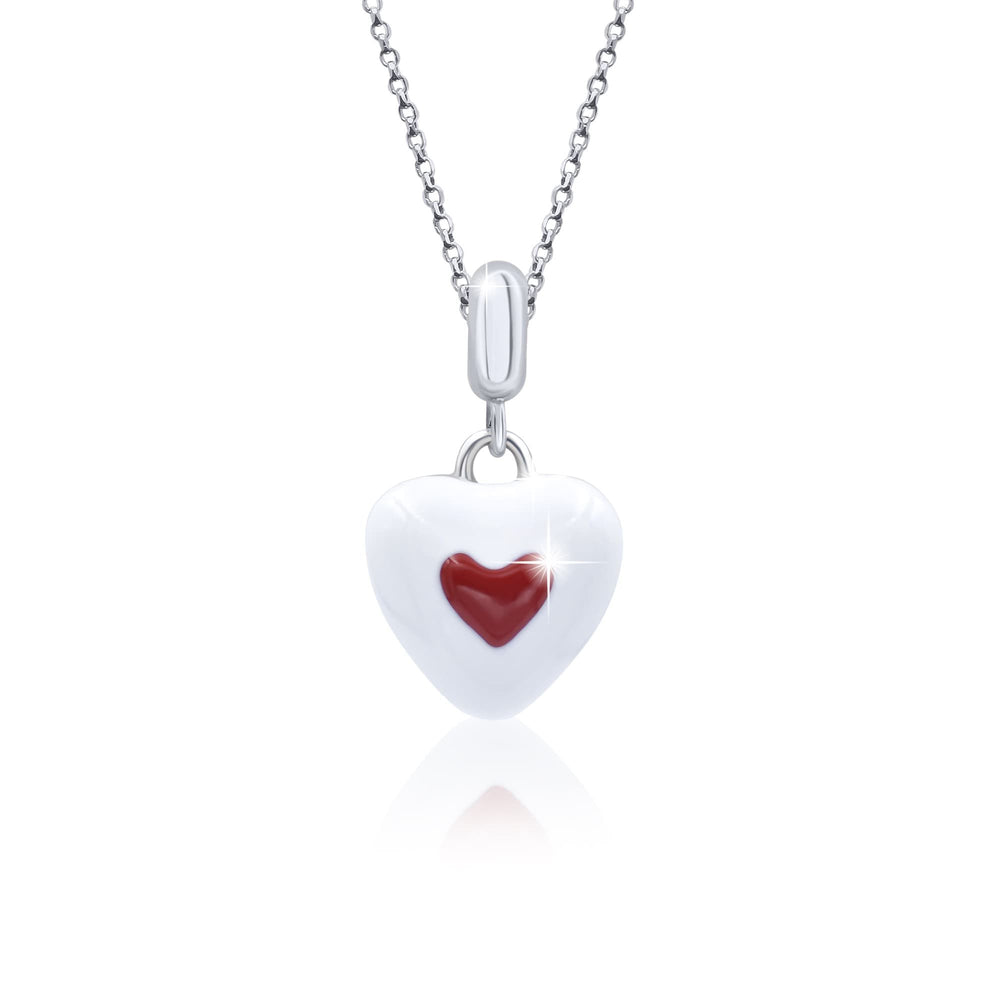 "Pendant ""Heart in a heart"""
