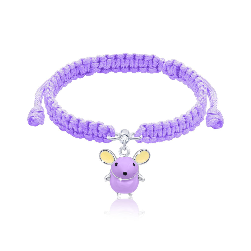 "Load image into Gallery viewer, Braided Bracelet ""Mouse"""