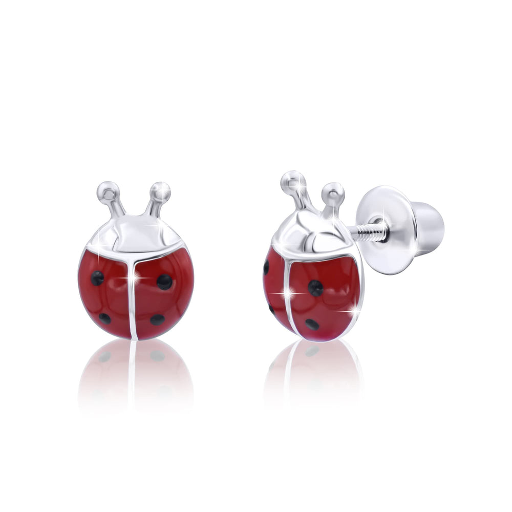 "Earrings ""Ladybug"""