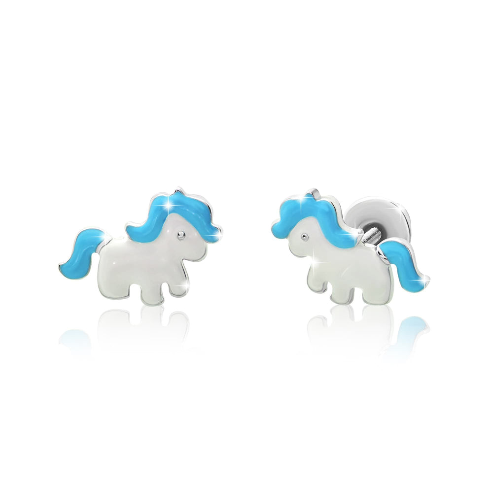 "Earrings ""Unicorn"""