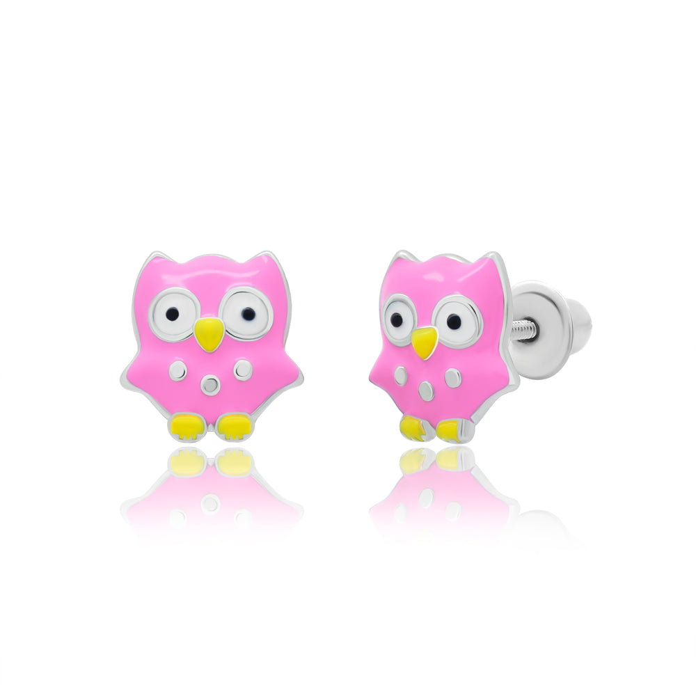 "Earrings ""Owl"""
