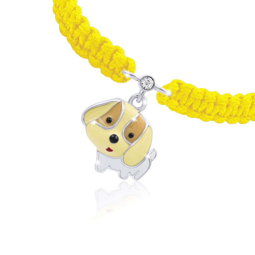 "Braided Bracelet ""Puppy"""