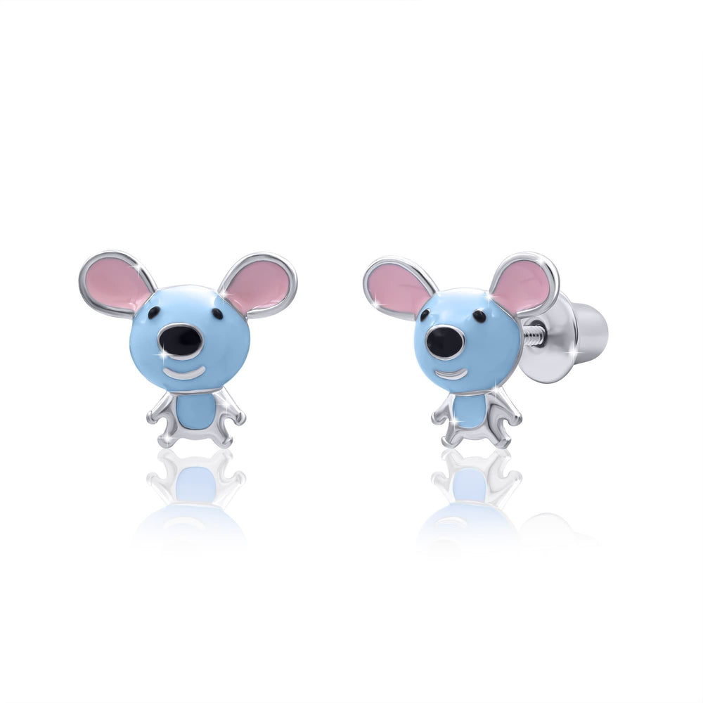 "Earrings ""Mice"""
