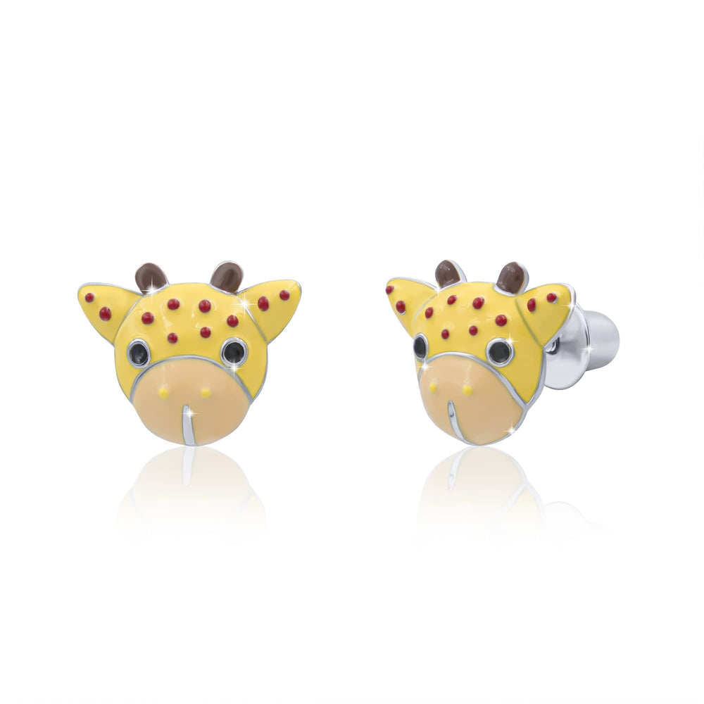 "Earrings ""Giraffe"""