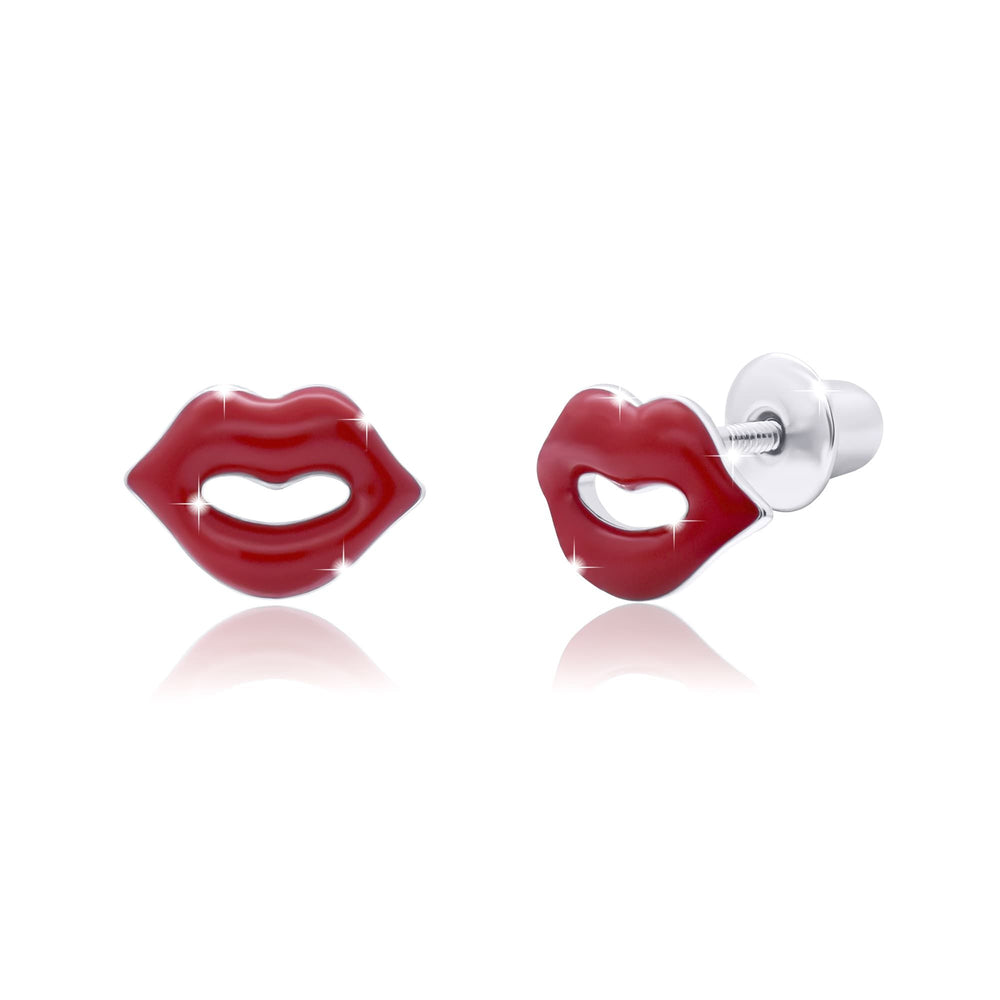 "Earrings ""Lips"""