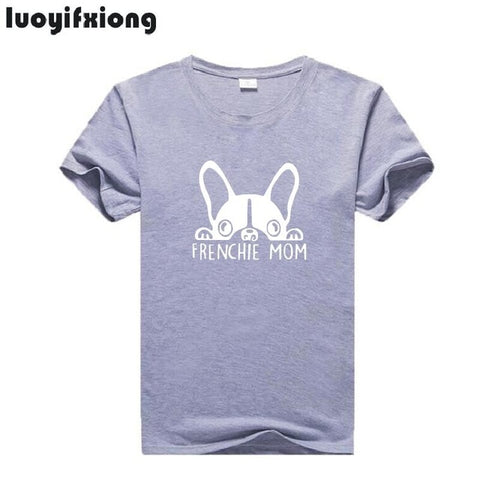 T-shirt Frenchie Momie
