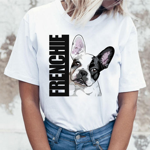 T-shirt Frenchie Bouledogue Français