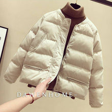 Load image into Gallery viewer, Bomber Winter Jacket Women