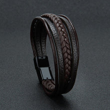 Load image into Gallery viewer, Leather Bracelet for Men