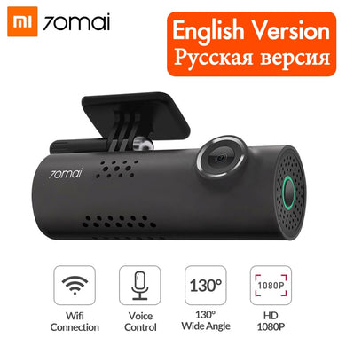 Dash Cam Wifi Car DVR Camera -1080P HD Night Vision - English Voice Contro