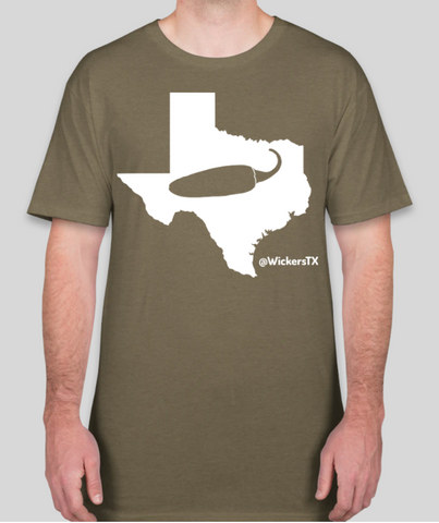 Wicker's TX Short Sleeve T-shirt $25 (Shipping Included)