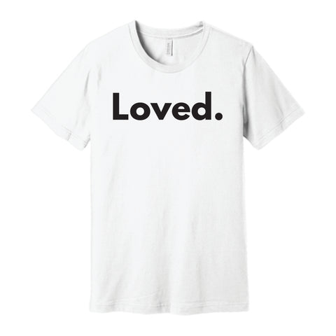 Loved. T-shirt in White