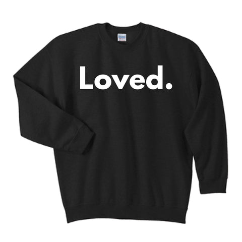 Loved Crewneck in Black