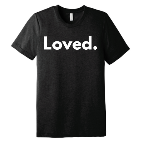 Loved. T-shirt in Black