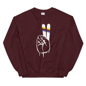 Ski for Peace Sweatshirt - Unisex