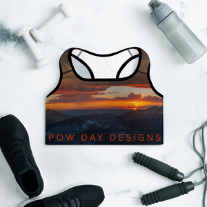 Whetstone Sunset Padded Sports Bra