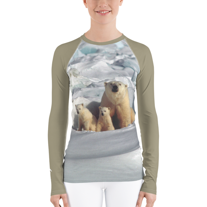 Polar Bear Long Sleeve Base Layer Top - Women's