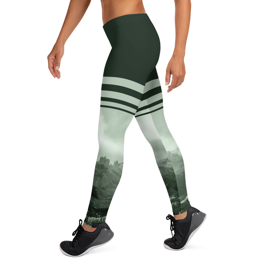 Mill Creek Castle Leggings - Forest Green