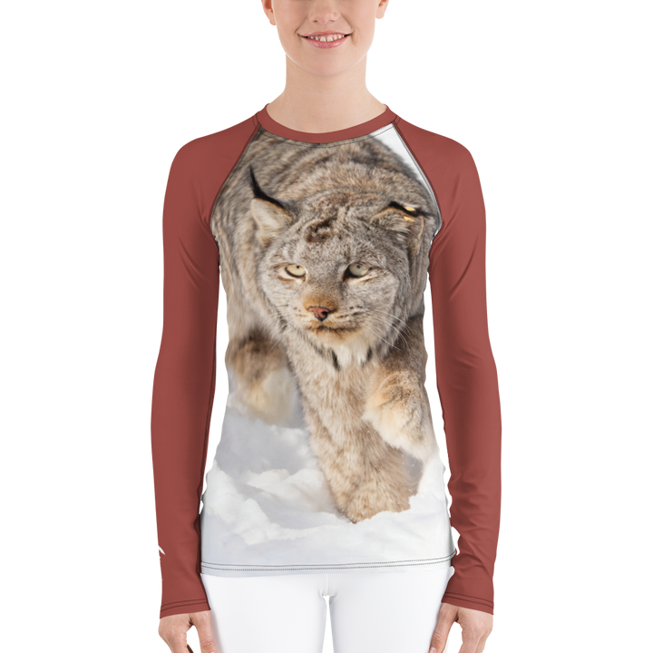 Canadian Lynx Long Sleeve Base Layer Top - Women's