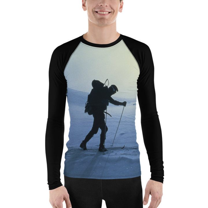 Ski Silhouette Long Sleeve Base Layer Shirt - Men's