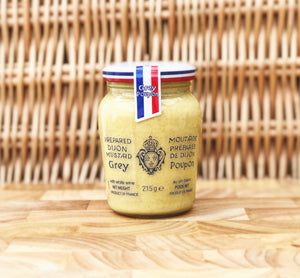 Jar of Grey Poupon Dijon Mustard