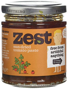 Zest Sundried Tomato Paste Suitable for Vegans & Vegetarians170g (dairy free, gluten free)