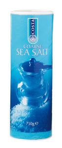 Costa Sea Salt Coarse Mediterranean 750g (for grinding, rubbing or crumbing)
