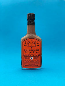 Geo Watkins Anchovy SauceVersatile Cooking Sauce 190ml (British,  perfect for so many dishes)