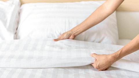 how to dry bed sheets