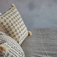 mudcloth floor pillow