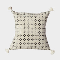 African Mudcloth Throw Pillow Cover - Cotton - 18 x 18
