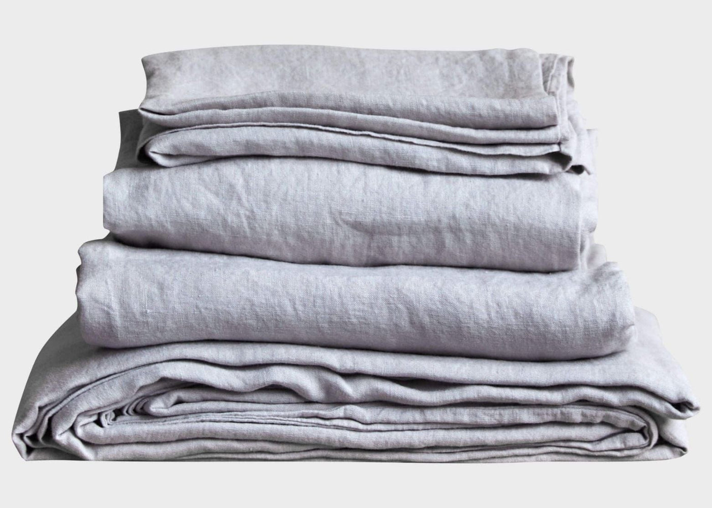 Stonewashed Linen Bed Bundle - Sand