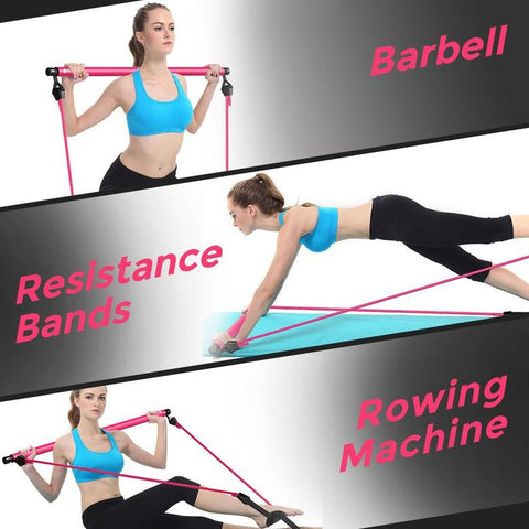Portable Pilates Bar - Homeoftrendz