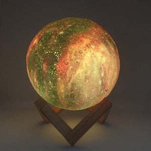 Galaxy Moon Lamp - homeoftrendz