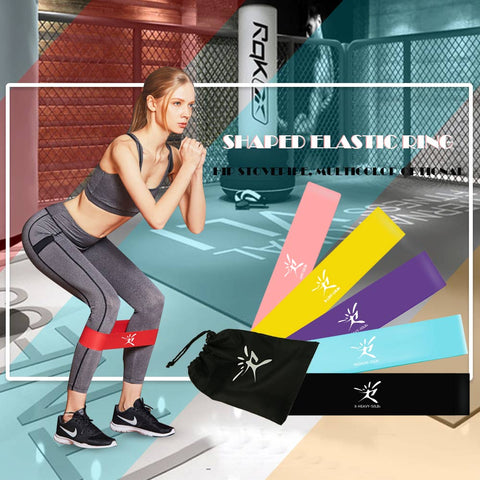 Image of New fitness gym resistance bands fitness equipment workout elastic bands - Homeoftrendz