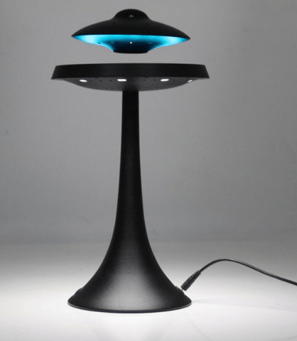Image of Levitating UFO Speaker Lamp - homeoftrendz