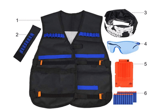 Image of NERF Shooting Tactical Kit vest Suit - homeoftrendz