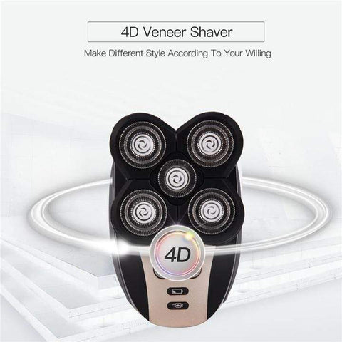 Premium 4D Electric Shaver - Homeoftrendz