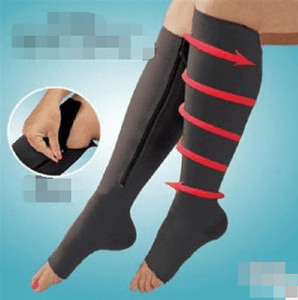 Pressure exposed toe compression socks - homeoftrendz