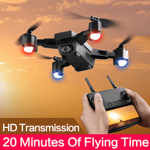 SMRC S20 GPS Drone With Live Video 1080P HD Camera FPV Helicopter Professional GPS FOLLOW ME Hovering 5MP Pixel Quadcopter Dron - Homeoftrendz