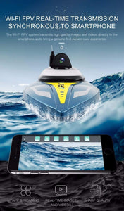 Spectre Remote Control Boat with FPV HD Camera - homeoftrendz