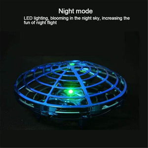 UFO HAND-CONTROLLED FLYING MINI-DRONE (AGES 5+) - Homeoftrendz