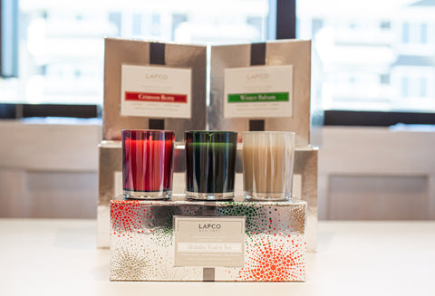 LAFCO Holiday Votive Set